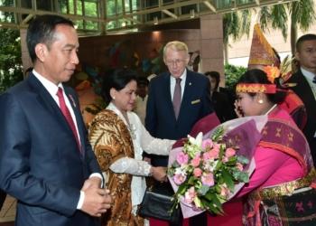 Tiba di Singapura, Presiden Jokowi Bersiap Hadiri KTT ke-33 ASEAN