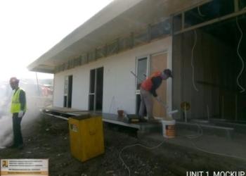Siap Digunakan Pertengahan Desember 2018, Pemerintah Bangun 116 Huntara bagi Korban Gempa Sulteng