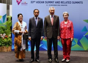 Jaga Sentralitas Kawasan, Presiden Kembali Angkat Konsep Indo-Pasifik di KTT ke-33 ASEAN
