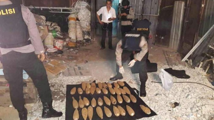60 Mortir Dijual ke Lapak Rongsok