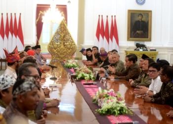 Terima Seniman dan Budayawan, Presiden Jokowi: Saya Mendengar, Silakan Sampaikan Masukan