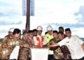 Presiden Jokowi Memulai Pembangunan Tol Pertama di Aceh