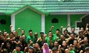 GP Ansor Kota Tangsel Bantu Polri Amankan Natal dan Tahun Baru