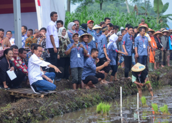 Tinjau Penyaluran KUR, Presiden Jokowi: Uang Pinjaman Jangan Buat Beli Motor