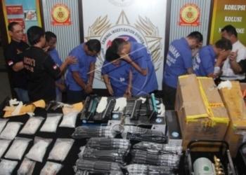 Polresta Tangerang Buru Bandar Sabu-sabu Pancapenankapan Kurir