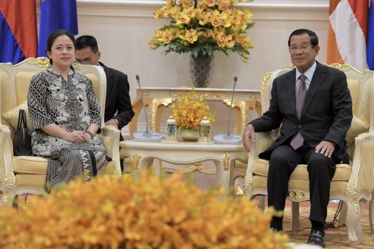 Bertemu PM Hun Sen, Menko PMK Harapkan Kerjasama Yang Lebih Erat