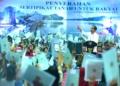 Presiden Jokowi: Silakan Yang Ngomong Bagi-Bagi Sertifikat Enggak Ada Gunanya