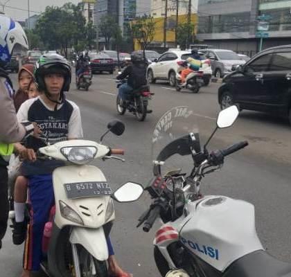 Satlantas Polres Kota Tangsel Bentuk Satgas Anti Lawan Arus