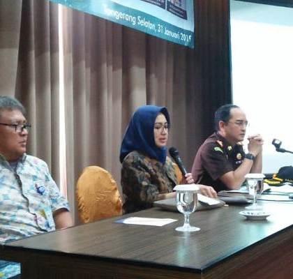 Walikota Airin Rachmi Diany Harap Dana Kelurahan Dapat Teserap Secara Merata dan Tepat Sasaran