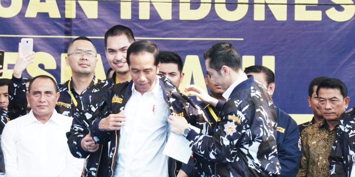 Hadiri Temu Kader, Presiden Jokowi Minta AMPI Luruskan Berita Hoaks