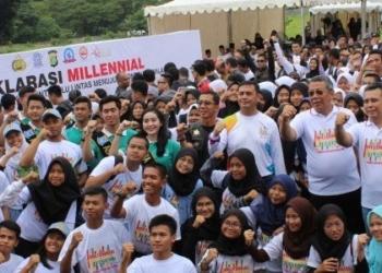 Millennial Safety Road Festival di Tangsel Berlangsung Meriah