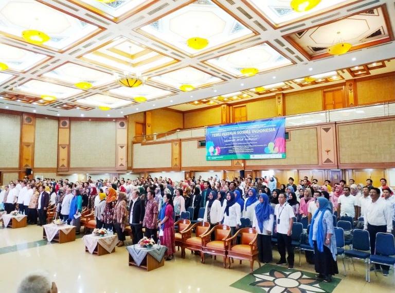 Puncak Peringatan Hari Pekerjaan Sosial Sedunia tahun 2019 Meriah