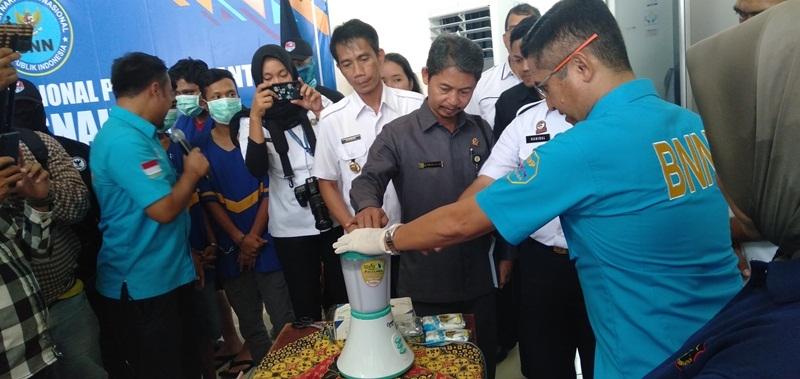 BNNP Banten Musnahkan 100 Gram Sabu, Selamatkan 400-an Penerus Bangsa