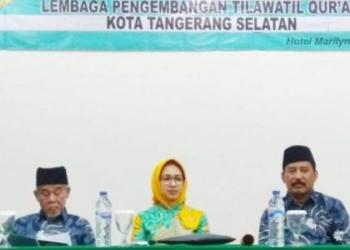 Pelantikan Pengurus LPTQ Tangsel Periode 2019-2024