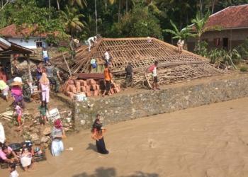 Banjir Bandang Hantam Ratusan Rumah