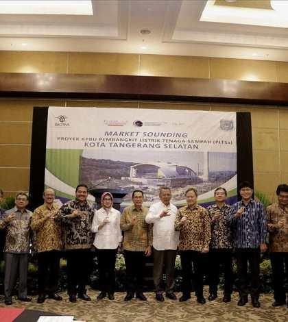 BKPM dan Pemkot Tangsel Gelar Market Sounding Proyek PLTSa Cipeucang