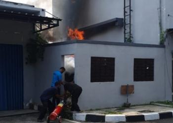 Aula C Dinkes Terbakar