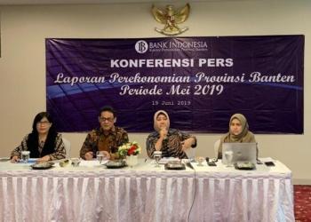 Perekonomian Banten Tumbuh 5,42 %