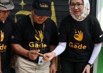 Walikota Tangsel Airin Rachmi Diany Resmikan Bank Sampah Teratai Pondok Pucung