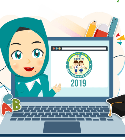 Website PPDB SMPN 20 Tangsel 2019: ppdbsmpn20.tangerangselatankota.go.id