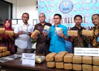 BNN Banten Tangkap Tiga Kurir Narkoba