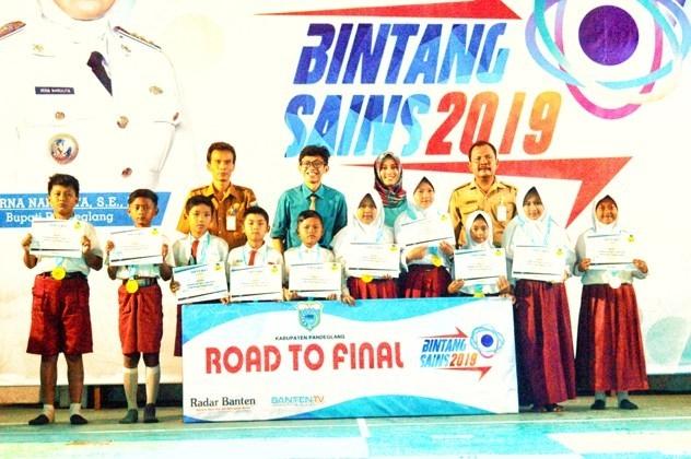 Bintang Sains Kecamatan Sobang: Baru Soal Pertama Langsung Sembilan Finalis