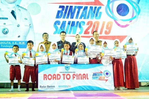 Bintang Sains Kecamatan Panimbang: SDN Gombong 3 Mendominasi