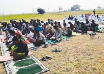 Dilanda Kekeringan, Lima Kmapung di Kasemen Gelar Sholat Istisqa