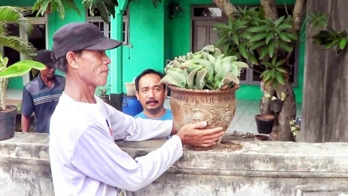Gerabah Bumijaya untuk Mempercantik Kampung