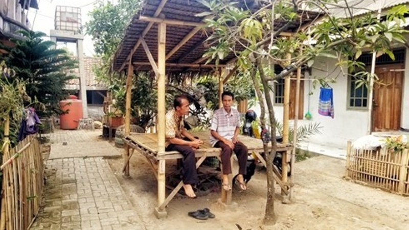 Iuran Warga Tegalpanjang Modal Jaga Kebersihan Kampung