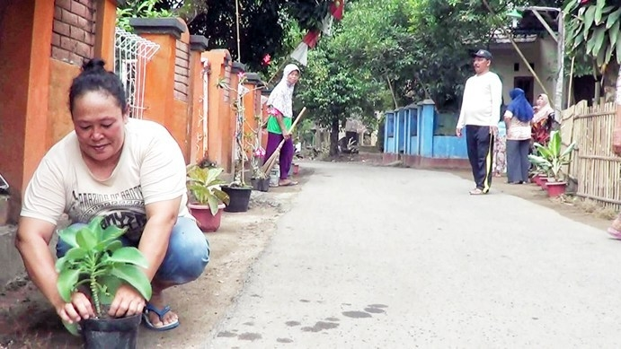 Panibungan Cukup Modal di Kampung Bersih dan Aman