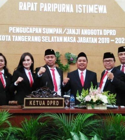 Pelantikan Anggota DPRD Tangsel Periode 2019-2024