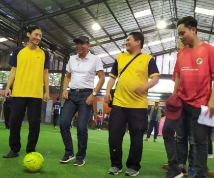 Peringati Hari Koperasi, Dekopinda Tangsel Gelar Turnamen Futsal
