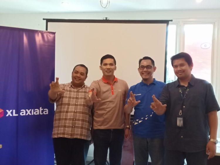 Pimpinan baru XL Axiata Regional Jabodetabek, Kalbar, Kaltim dan Kaltara. (Ist)