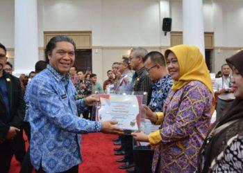 Penganugerahan Keterbukaan Informasi Publik Banten. (Ist)