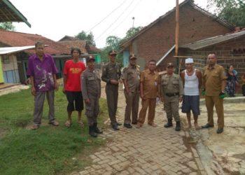 Bantuan korban puting beliung di Kecamatan Jambe. (Ist)