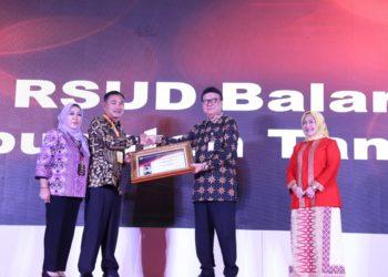Penghargaan RSUD Balaraja. (Ist)