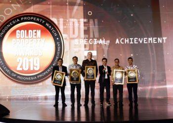 Paramount Land Raih Penghargaan Golden Property Awards 2019. (Ist)