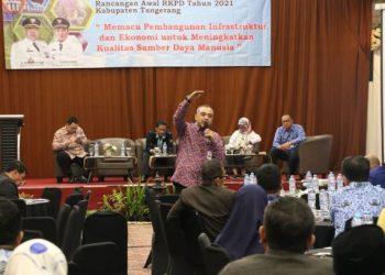 Forum konsultasi publik Kabupaten Tangerang. (Ist)