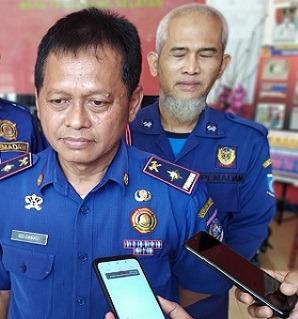Kepala Dinas Pemadam Kebakaran dan Penyelamatan Kota Tangerang Selatan Uci Sanusi