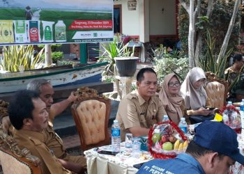 Kepala Dinas Pertanian dan Ketahanan Pangan Kabupaten Tangerang Aziz Gunawan
