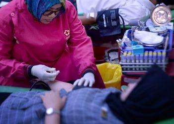 Donor darah Hotel Horison Grand Serpong. (Ist)