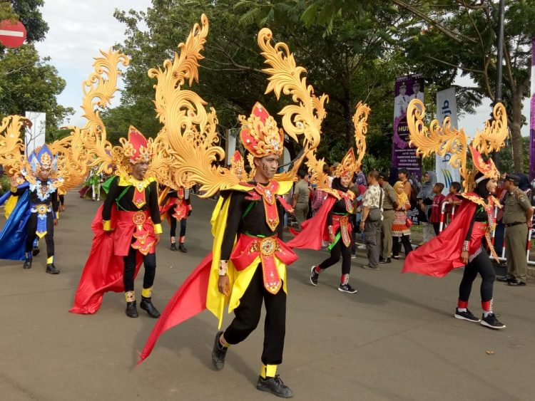 Karnaval budaya. (Net)
