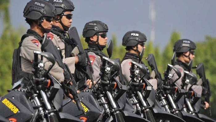 Petugas kepolisian amankan natal dan tahun baru. (Net)