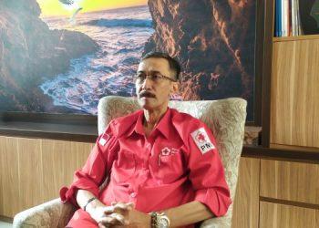 Ketua PMI Kota Tangsel, Suhara Manullang. (PHD)