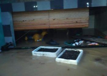 Banjir di Tangsel. (PHD)
