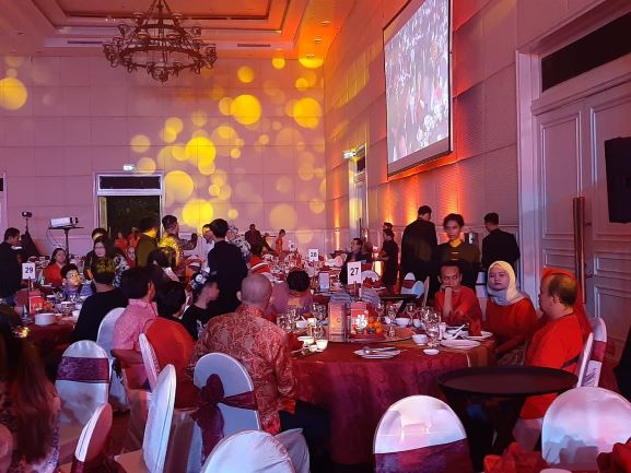 Gala Dinner Royal Spring Festival 2020 Summarecon Serpong. (RAY)