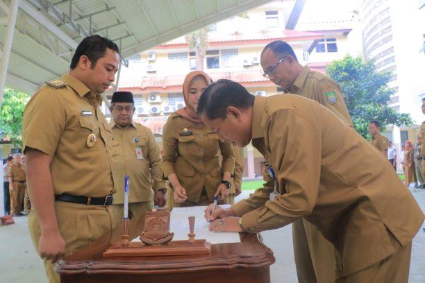 Pelantikan Sekda Kota Tangerang. (Ist)
