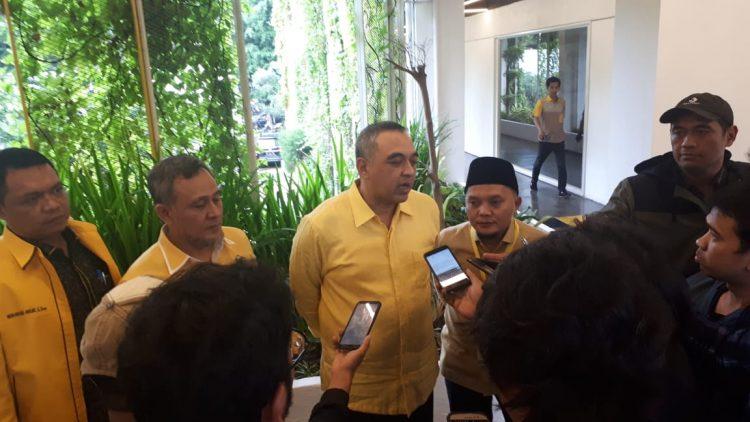 Calon tunggal Golkar Jakarta, Zaki Iskandar. (ist)