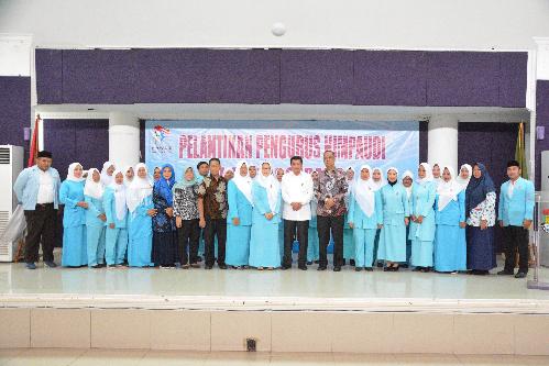 Pelantikan Himpaudi Kabupaten Tangerang. (Ist)